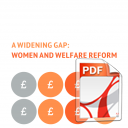 A Widening Gap: Women and Welfare Reform