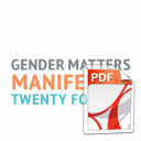 Gender Matters Manifesto: Twenty for 2016