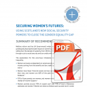 Securing Women's Futures: Summary of Recommendations