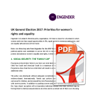 UK General Election 2017: Priorities for women's rights and equality